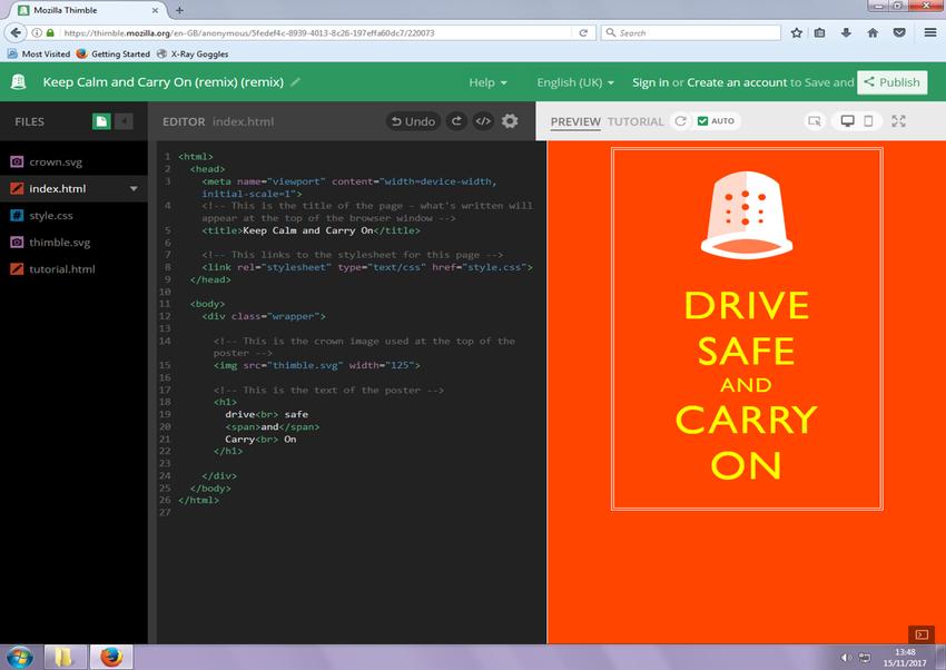 Year 4 HTML coding