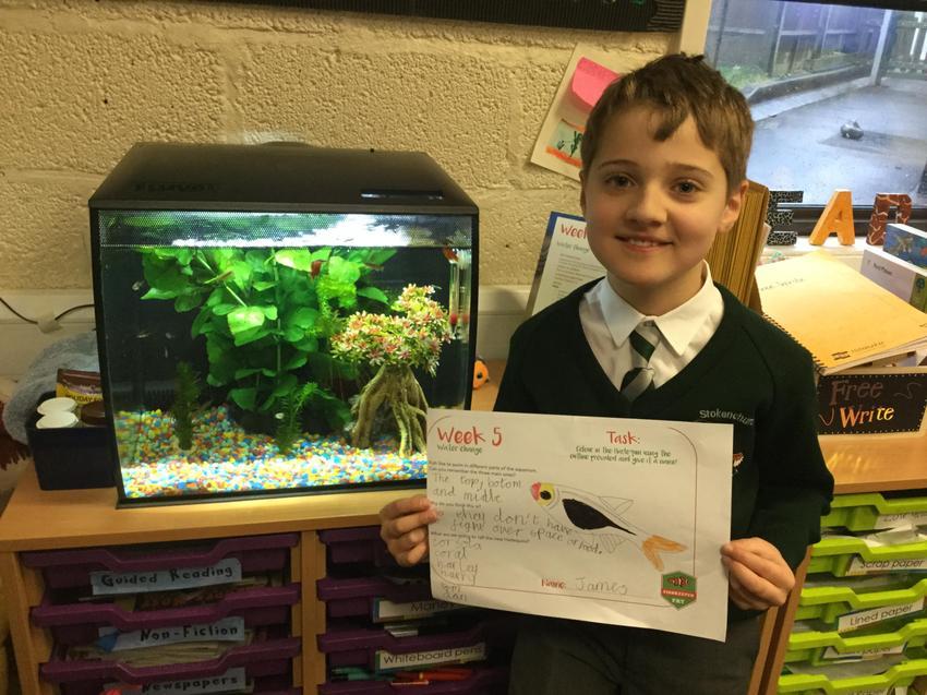 Fishkeeper of the Week! Well done James!