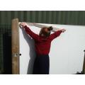 Brianna measuring