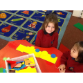 Making a train using 2D shapes