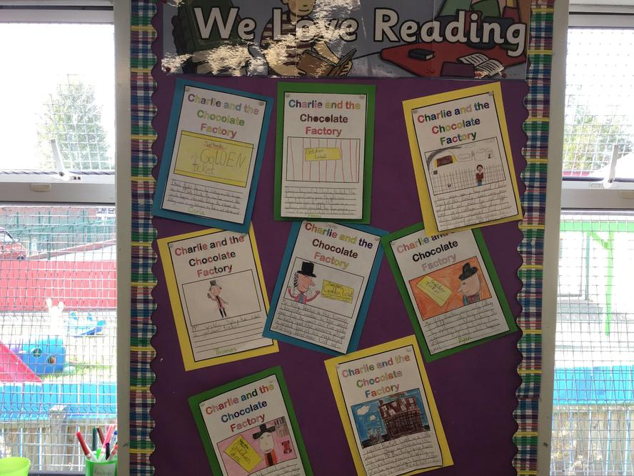 Displaying our book covers