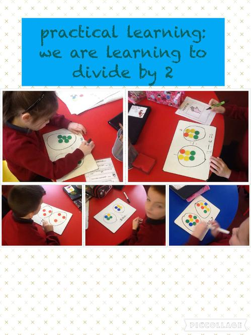Learning to divide in Miss McCabe's class