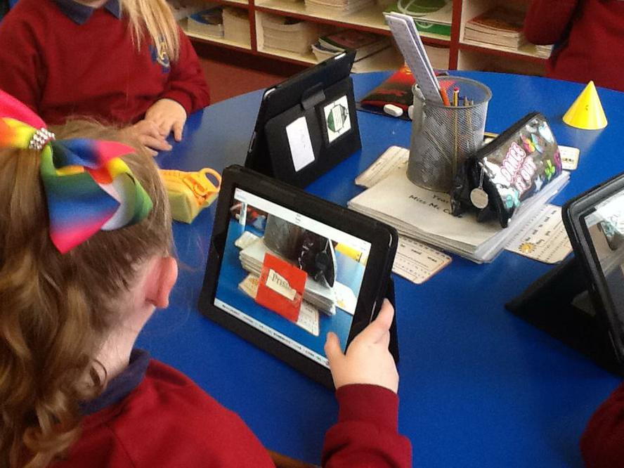 3D Shape using Book Creator