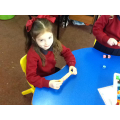 Making patterns of 1 using 2 colours