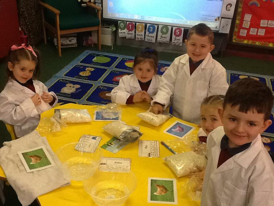 We had a great time being scientists!