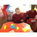 Making a robot using 2D shapes