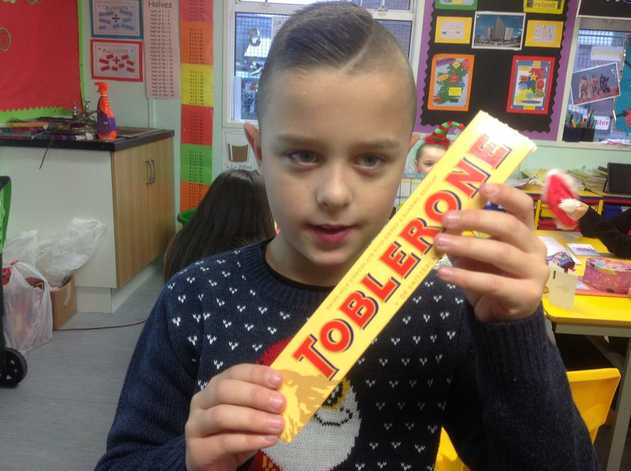 A rather delicious triangular prism!