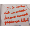 Our thoughts on Holocaust Memorial Day (27/1/20)
