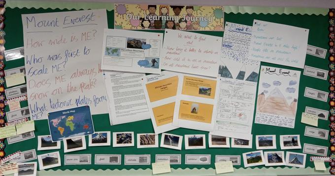 Year 4 Turtles Term 3 Display