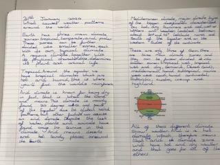 Year 5 Climate Zones