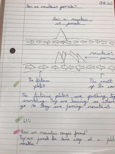 Year 4 Research about Mountains