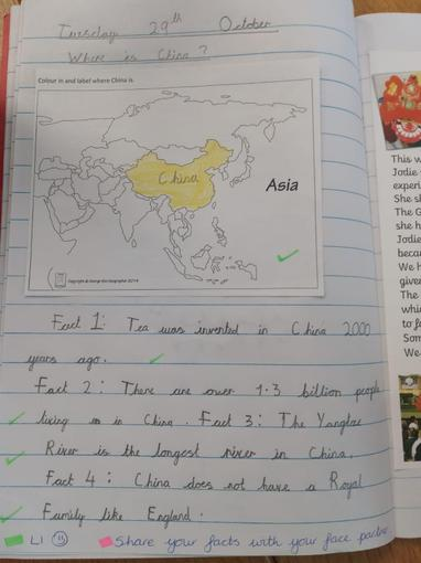 Year 2 Where is China?