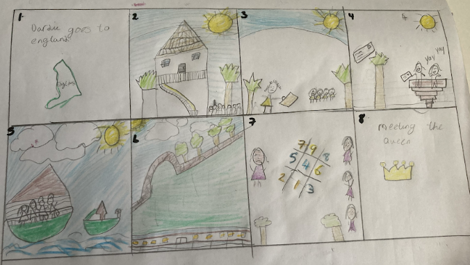 Lacey K's story map