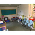 The cloakroom in Year One