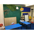 The role-play area in Year One