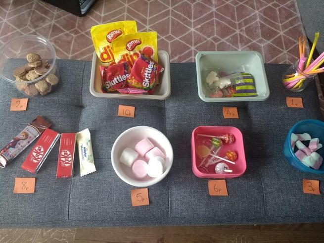 Violet's snack idea