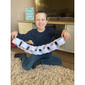 Samuel's months of the year paper chain