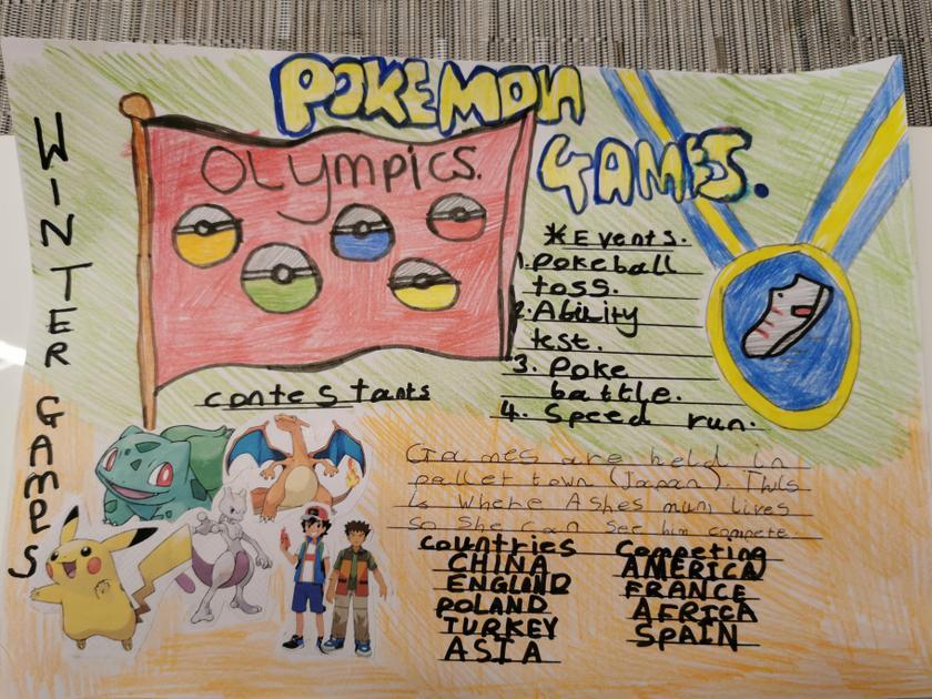 Niall's Pokémon Olympics