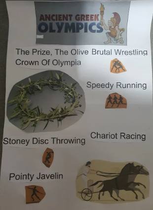 Brandon's Olympic poster