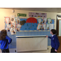 School Council display their current goals.