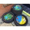 Small world outdoor tyres
