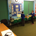 We have a music room for lessons with Mr Mansfield