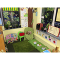 Reading garden with learning added