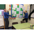 Year 6 have a 'Writing Wall of Fame'.