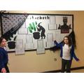 Year 6 studied Macbeth & wrote newspaper articles.