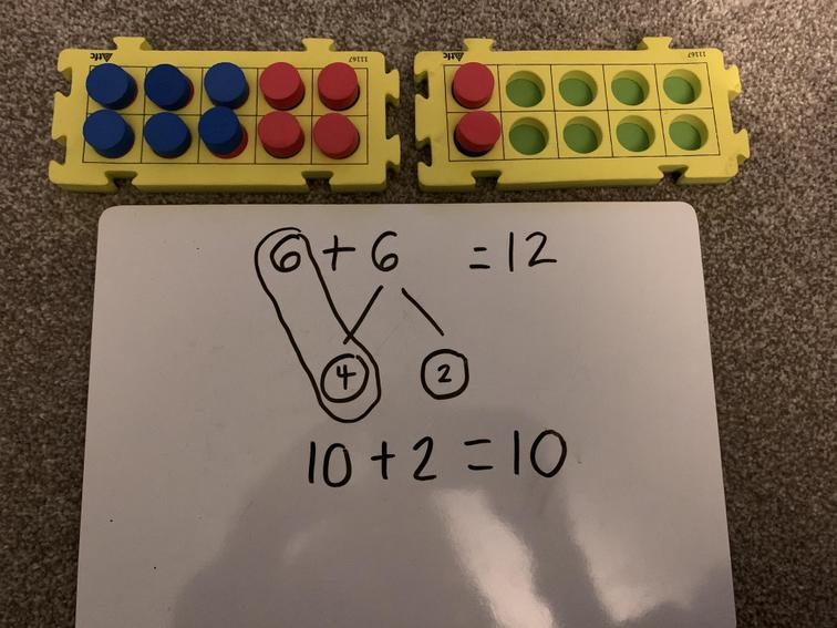 It is the same as 10 + 2= 12