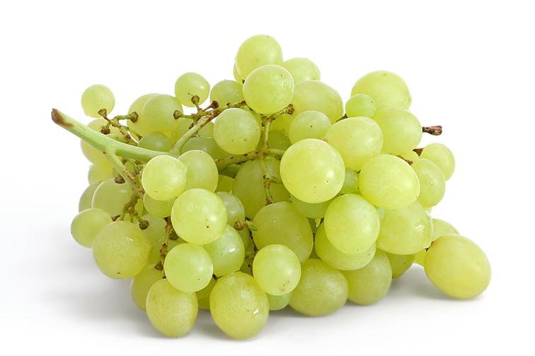 A few grapes