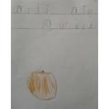 Umaimah wrote oranges are sweet