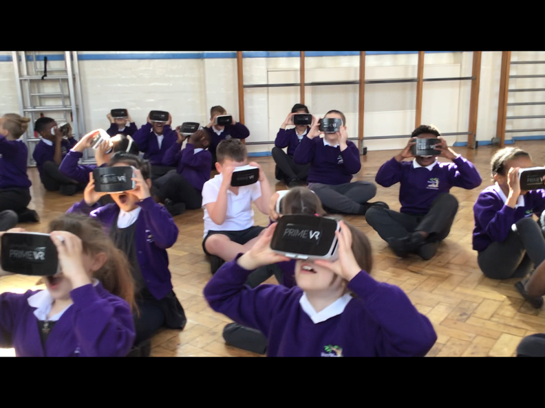 Year 3 couldn't believe their eyes were using Prime VR to explore Ancient Egypt!