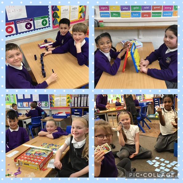 We have enjoyed playing games together this afternoon like Cluedo and Guess Who!