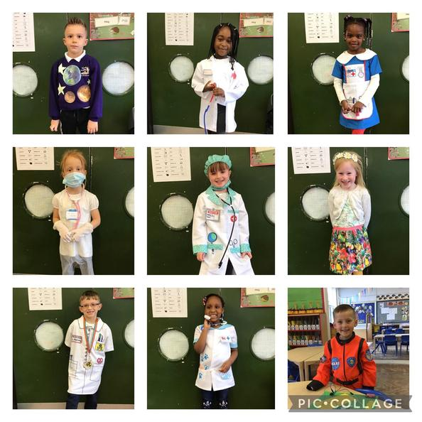Dressing up for Science week!