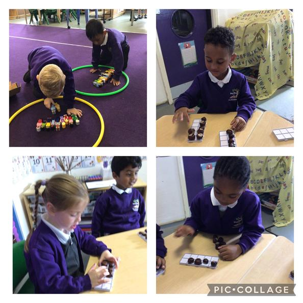 This week we have been learning about more, fewer and equal when comparing quantities.