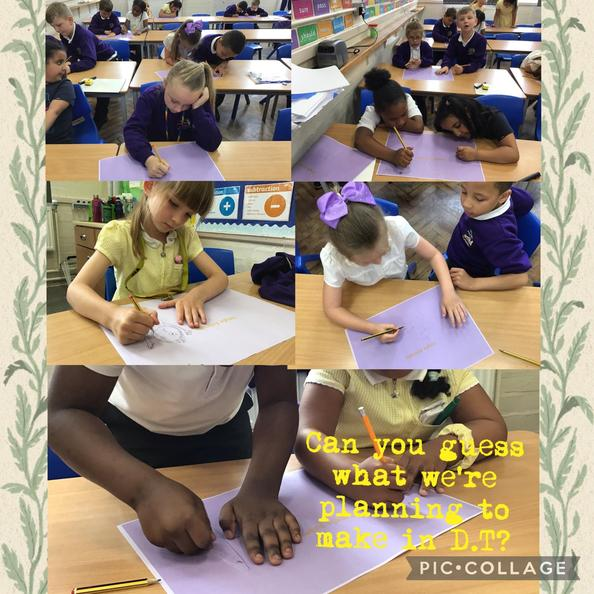In D.T we planned and drew different animals that live in a jungle.
