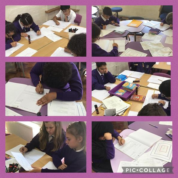 Year 6 have been drafting their formal, persuasive letters in character as Mr Anderson.