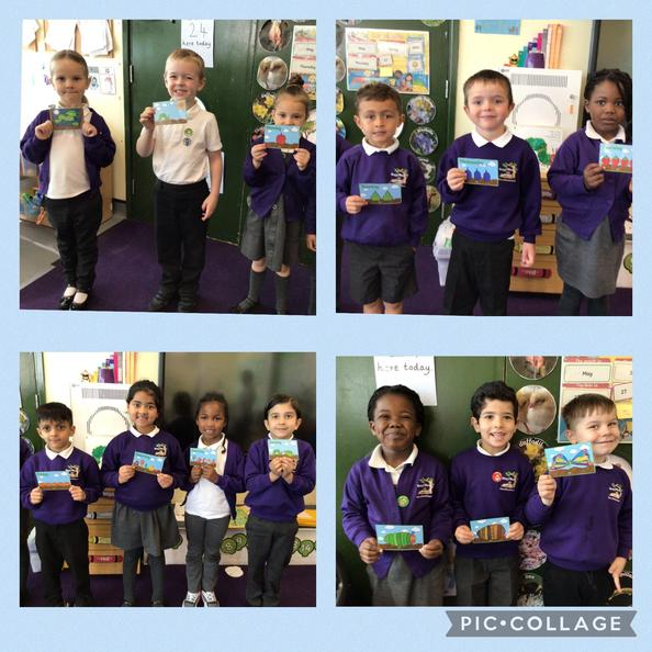 The children sequenced the story 'The Very Hungry Caterpillar' by Eric Carle.