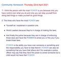 Y6 Home Learning 'Community'