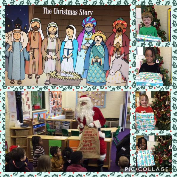 The children have been learning about why and how some people  celebrate Christmas.