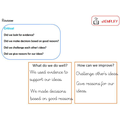 Y5 Critical thinking review
