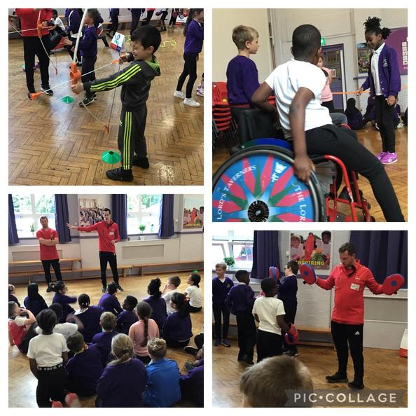 Year 3 have enjoyed taking part in different Olympic and Paralympic activities this week!
