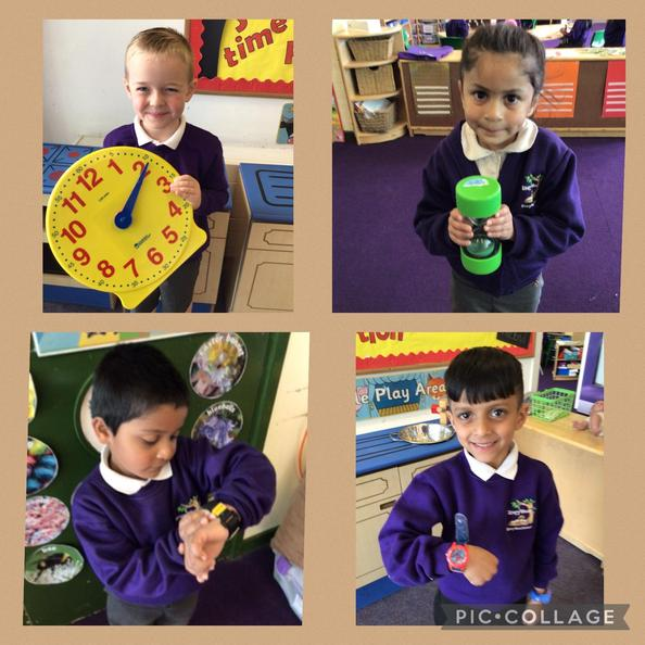This week we have learnt about different ways to measure time.