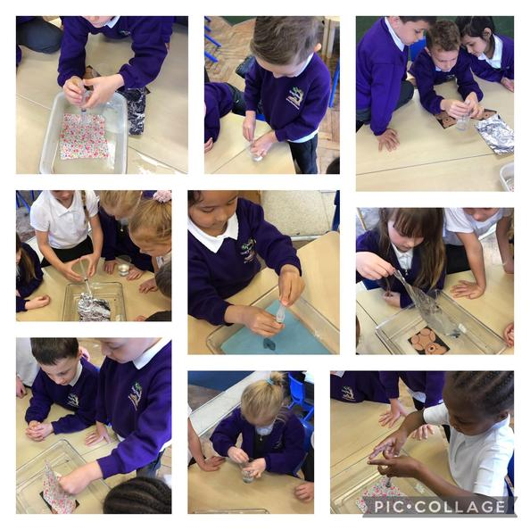 We did an investigation to find the best material for Teddy's coat.