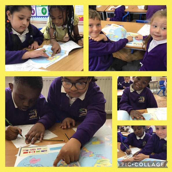We learnt how to use an atlas to locate India on maps of the world and Asia.