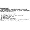 Y1 Thinking Tool used
