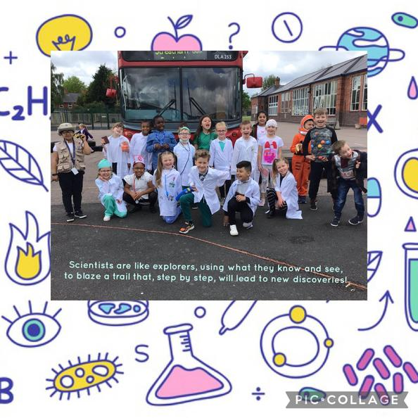 We launched Science week by dressing up as different scientists!