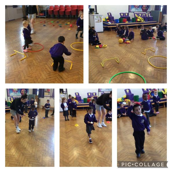 We took part in lots of fun activities and races for Sports Morning