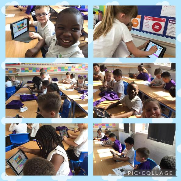 In Computing we learnt how to make a car move on Scratch Jr.
